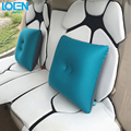 Newest Inflatable car Lumbar Back Support Cushion Relief Pillow for Office Home Car Auto Travel Booster Seat Chair back support