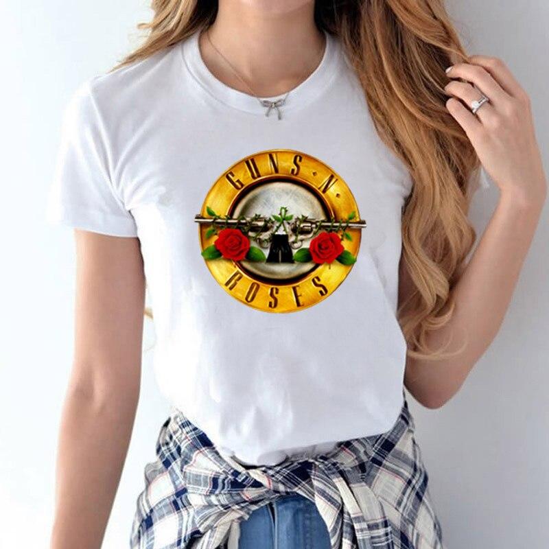 Guns And Roses T Shirt Women S