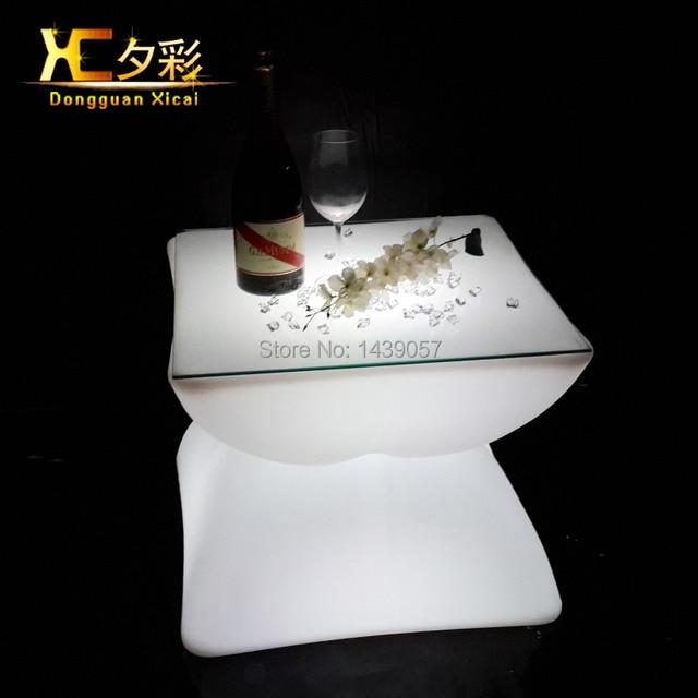 Luz LED Up Bar tabla Glowing del Club de noche muebles Living Room ...