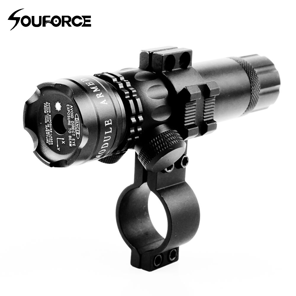 Tactical Range 300m Metal Green Laser Dot Sight with 20mm Rail Mount Retail Box for Hunting Rifle Airsoft
