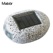 Mabor Simulation Stone Buried Lamp Garden Safety Supplies Underground Light Solar Power Buried Light Lawn Yard Outdoor Lighting(China)