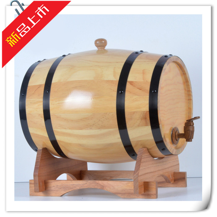Cheap 15L oak barrels brewed red wine fermentation barrels Wooden wine barrels wine barrels