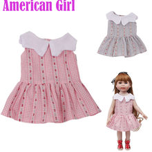 2018 Hot Accessory Toy Daily Costumes Doll Clothes Dress For 18 Inch American Girl Doll dolls Gifts for Baby Girls Toy(China)