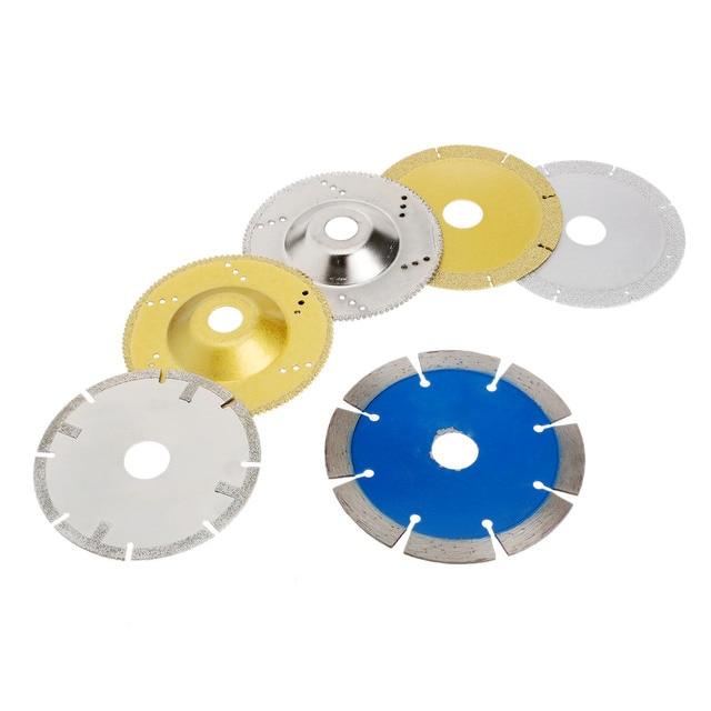6 pz mini sega circolare lame da taglio dremel fresa a disco mola accessori dremel strumento di - Taglio piastrelle dremel ...