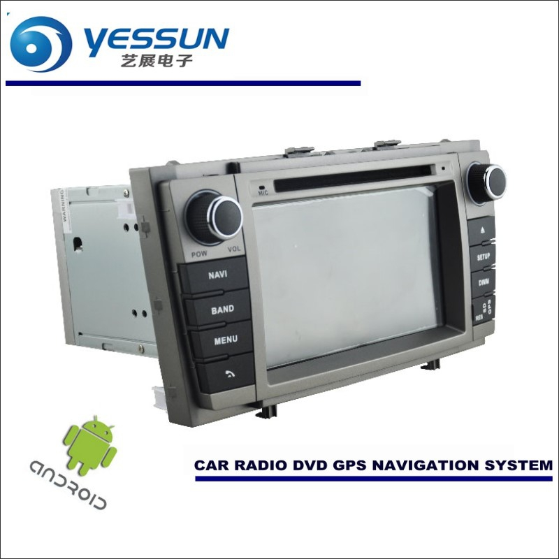 YESSUN Car Android Navigation System For Toyota Avensis 2009~2014 - Radio Stereo CD DVD Player GPS Navi BT HD Screen Multimedia yessun for mazda cx 5 2017 2018 android car navigation gps hd touch screen audio video radio stereo multimedia player no cd dvd