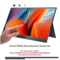 15,6 zoll 4K Mit Telefon Mirroring und Touch Geröll tragbare LCD monitor 5mm ultra slim LCD display forMac /PC/smart telefon/PS4