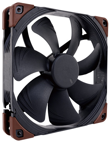 Noctua NF-A14industrialPPC-2000 IP67 PWM PC Computer Cases Towers CPU processor 14mm fan COOLERS fans Cooling fan Cooler 80 80 25 mm personal computer case cooling fan dc 12v 2200rpm 45cm fan cable pc case cooler fans computer fans