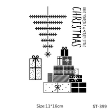 ZhuoAng Christmas gifts Clear Stamps/Card Making Holiday decorations For  scrapbooking Transparent stamps 11*16cm