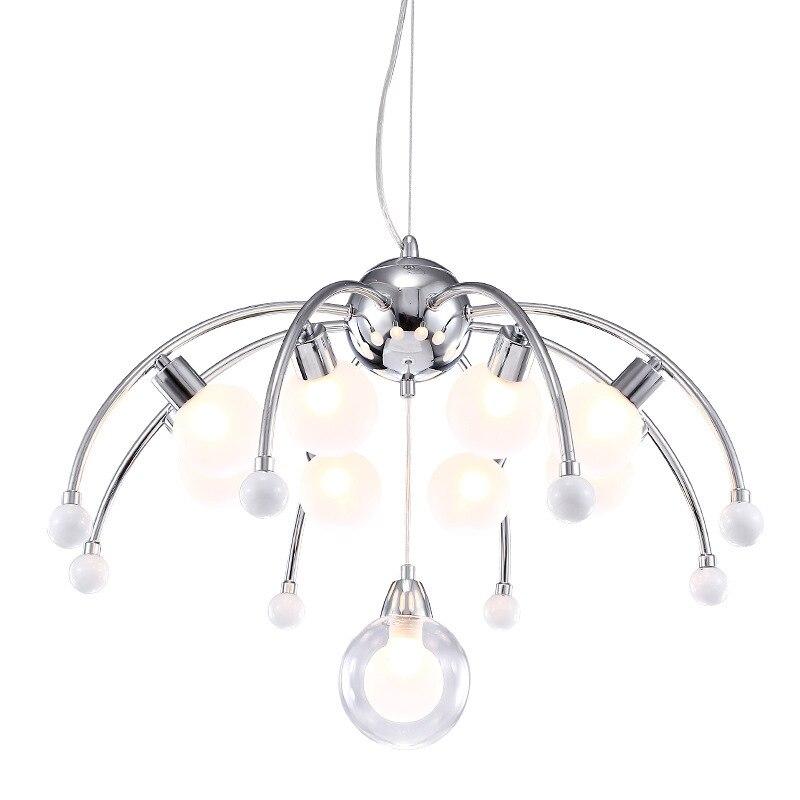 Nordic Post Modern Simple Style Pendant lights Living room Bedroom Art Creative Restaurant 6/9 lamps G9 LED Lighting fixture Pendant Lights     - title=