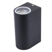 أحدث تصميم GU10 وحدة إضاءة Led جداريّة مصباح صعودا وهبوطا الشمعدان أضواء الجدار AC85 265V 10 واط قوس مصباح (جانبين 5 واط)