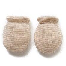 Теплые перчатки для мальчиков и девочек, толстый теплый флис, зима, подарок для новорожденного, для младенца, милые антизахватные варежки