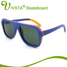 IVSTA Real Pilot Wood Sunglasses Skateboard Glasses Men Aviator Eyeglasses Wooden Eyewear Spectacle Frames Polarized Handmade