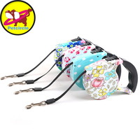 Free Shipping 5M Top Quality Dog Lead Retractable Dog Leash Pet Traction Rope Chain Harness