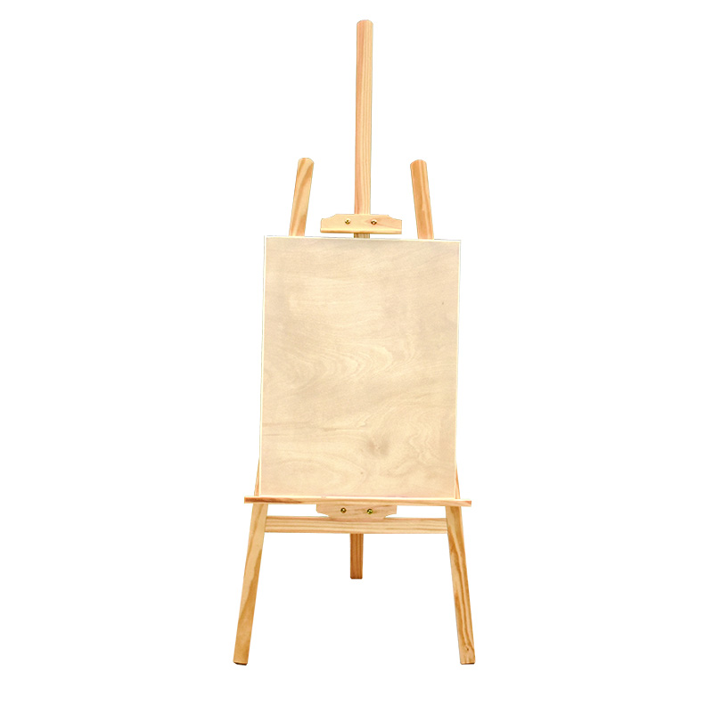 Folding Wooden Easel Art Painting for Watercolor Name Card Stand Display Holder Drawing for School Student Artist Supplies