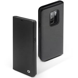 Image 3 - Qialino本革フリップケース三星銀河s9ファッション高級極薄ステント電話カバー三星s9 +プラス6.2インチ