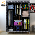 Family background than simple wardrobe closet three rows of dust cloth with a large capacity drawer wardrobe