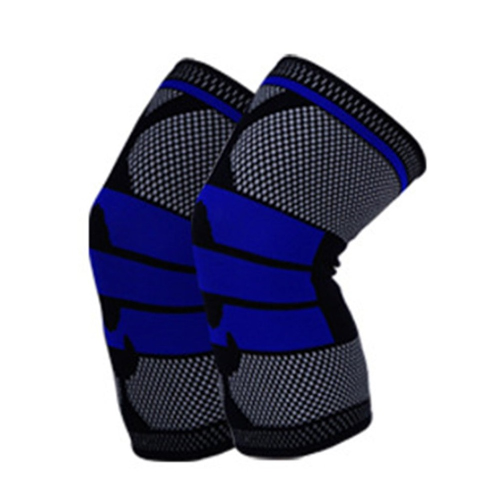 Basketball Support Elastic Breathable Padded Knee Pads Brace Meniscus Patella Protector Sports Safety Protection newest in Elbow Knee Pads from Sports Entertainment