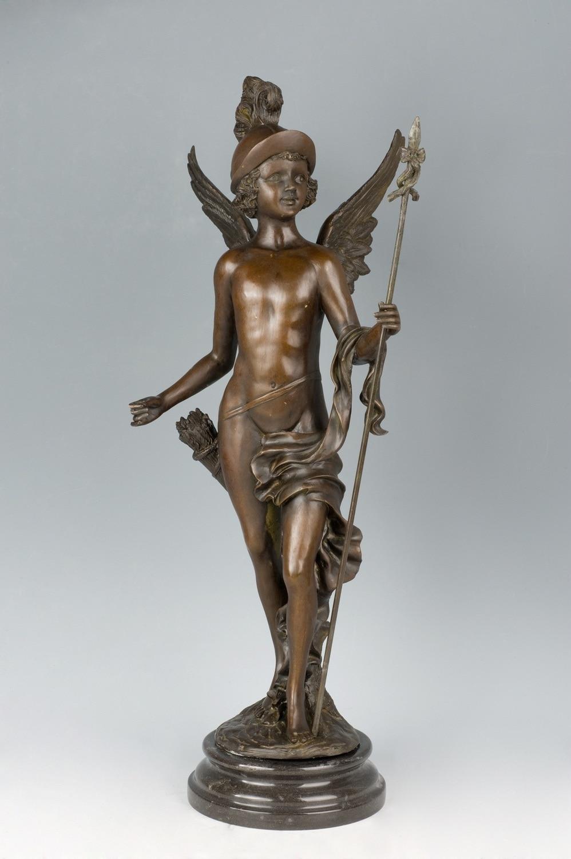 Western arts and crafts - Arts Crafts Copper Modern Western Classical Chansons Du Printemps Statue Bronze Figurines Art Nouveau
