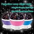 Romantic Rotating Spin Night Light Projector Sky Star Master Children Kids Baby Sleep Lighting USB Lamp Led Projection