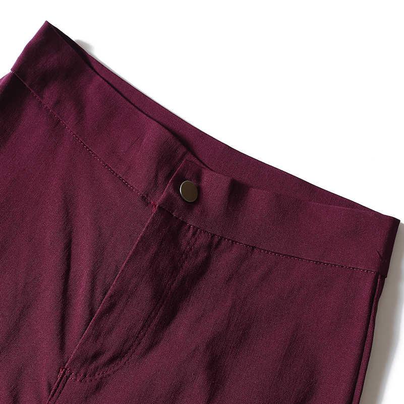 2019 модные обтягивающие джинсы для женщин, джинсовые брюки, одноцветные облегающие с высокой талией, потертые, размера плюс, брюки-карандаш, женские повседневные S-XXXL