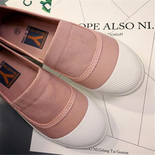 2018 New Fashion Spring Women Soft Sneakers Woman  Cool Casual Shoes Female Leisure Black white Flats
