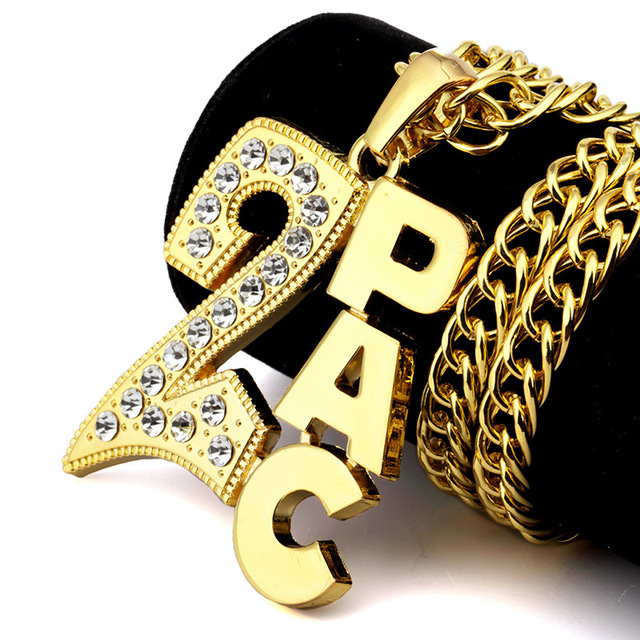 New fashion personality high quality gold color hip hop hip hop