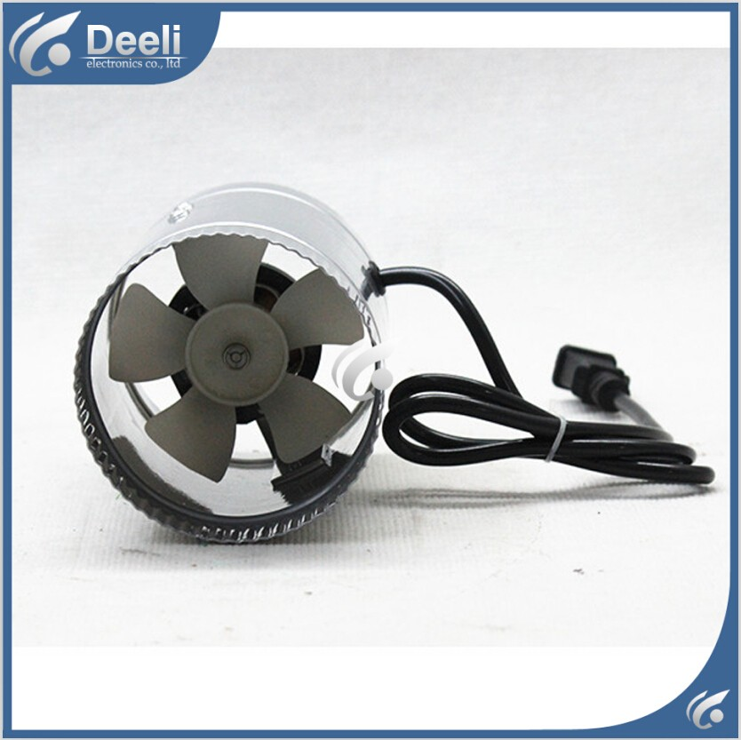 good working new for Small duct blower 4 inch bathroom exhaust fan 100mm Cooling Exhaust Blower for Home Grow Tent Room все цены