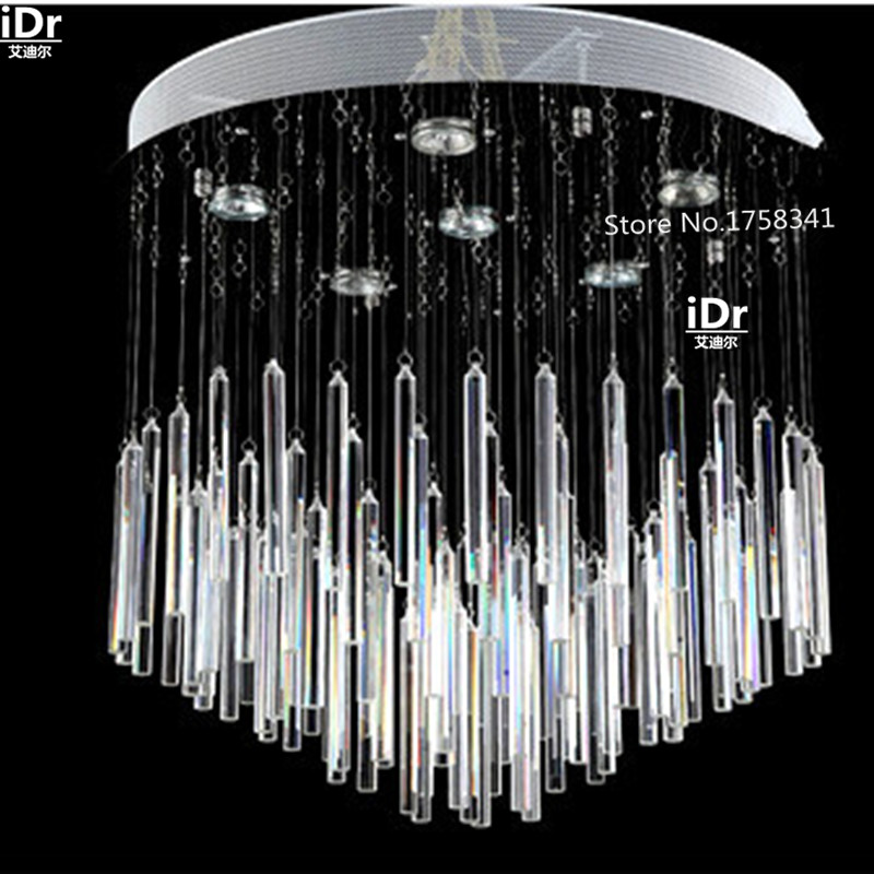 2016 New Modern minimalist LED crystal chandelier bedroom lamp living room lamp crystal lamp lighting Upscale atmosphere k9 crystal chandelier bedroom lamp hall popular design guaranteed 100% upscale atmosphere crystal light