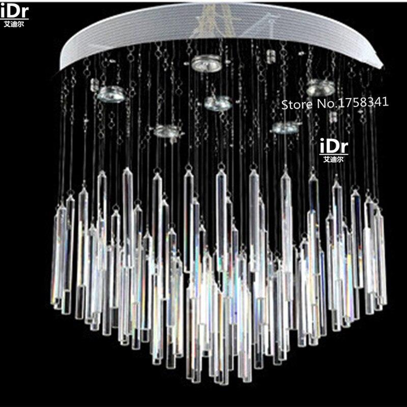 2016 Neue Modernen Minimalistischen Led Kristall Kronleuchter Schlafzimmer Lampe Wohnzimmer Beleuchtung