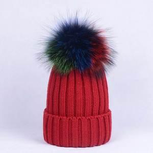 b0483ab45f3 Women Beanies Pom Poms Ball Cap Skullies Girl Winter Hat