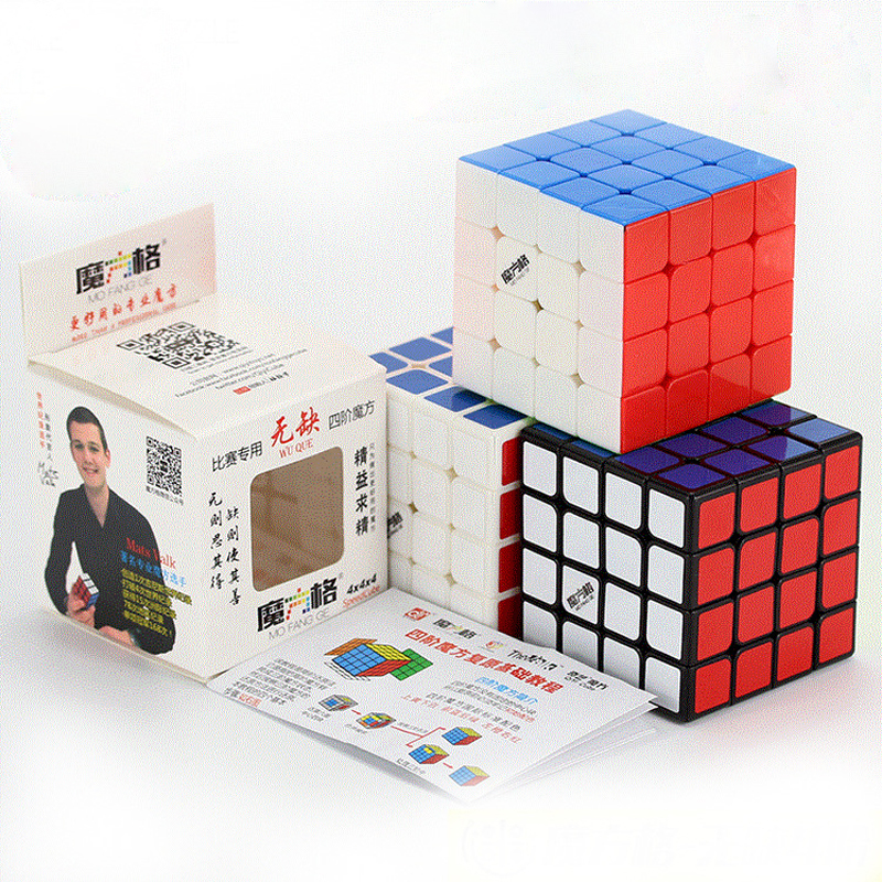 QiYi MoFangGe WUQUE Magic Cube 4x4 Wuque Puzzles Cube Professional Speed Cube Magico Cubo Traditional Cube Toys Educational Toys