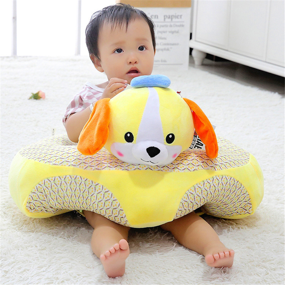 Infant Learning Chair Baby Seats Sofa Plush Soft Support Seat Comfortable Chair