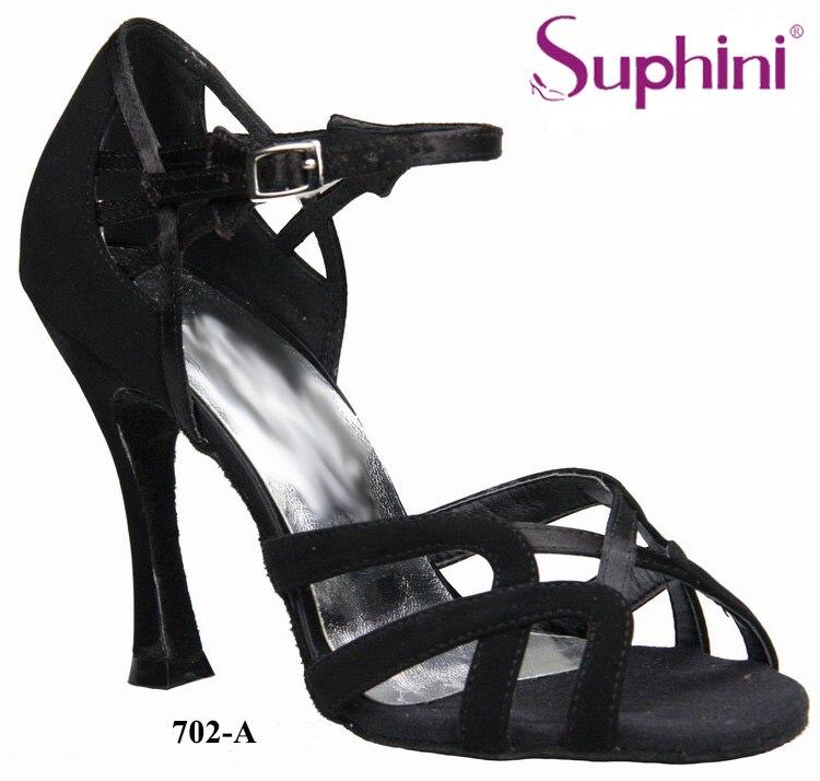 FREE SHIPPING 2017 Suphini Woman Professional Latin Dance Shoes, Satin Dance Shoe, Zapatos De Baile