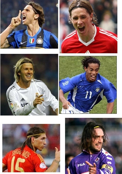 Wholesale Sport Football Headbands Men Hair Accessory Elastic Soccer