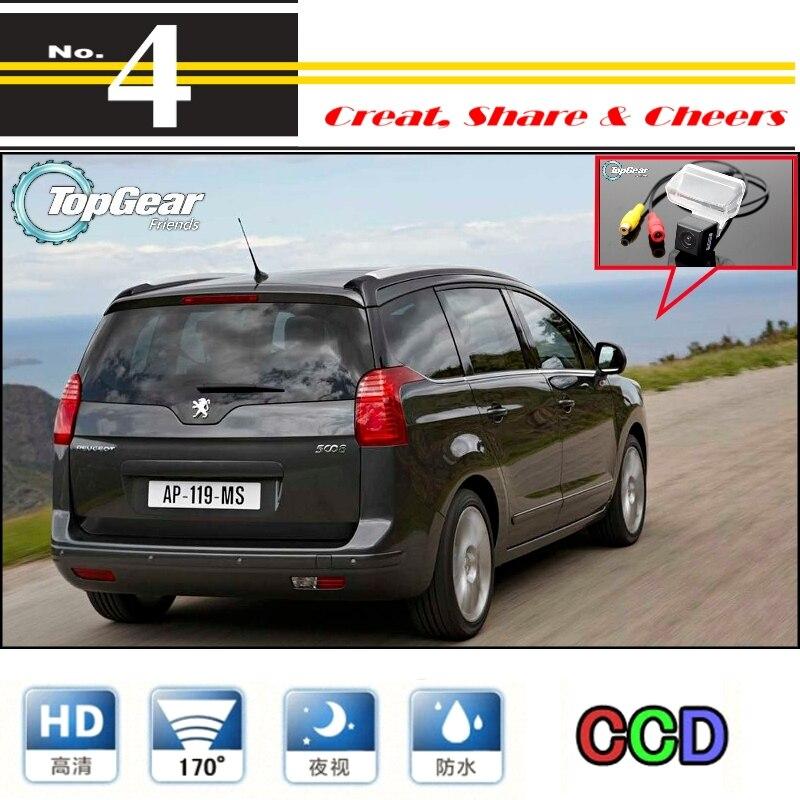 Car Camera For Peugeot 5008 High Reverse Rear View Back Up Camera PAL / NTSC Use | CCD + RCA|car night vision camera|camera audi|camera h264 - title=