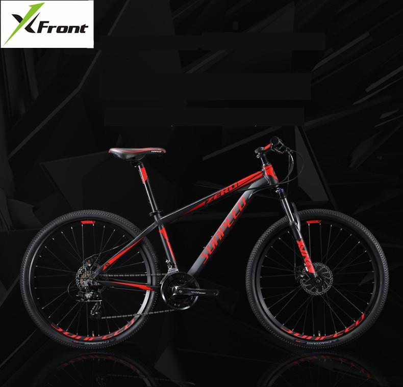 X-Front Mountain Bike Aluminum Alloy Frame 24 Speed 27.5 29 Inch Wheel Bicicleta SHIMAN0 Disc Brake MTB Bicycle