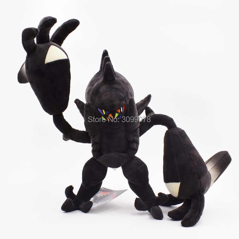 30*53 センチ Lunala 33*60 センチ Necrozma 美しいぬいぐるみ太陽 & 満月動物ぬいぐるみソフトホット日本アニメアクションフィギュア人形おもちゃギフト