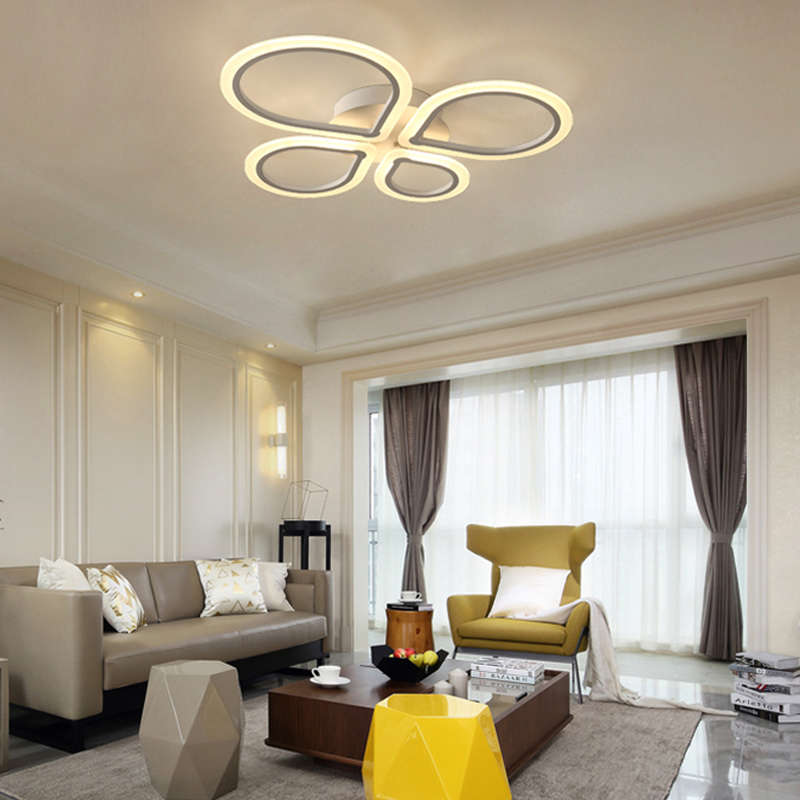 New modern led ceiling lights for living room bedroom Indoor Lighting Home Decorative lamparas de techo ceiling lamp fixtures