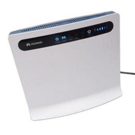 Оригинальный Разблокирована Huawei B593 B593U-12 Vodafone B2000 4 Г FDD LTE CPE 100 Мбит WIFI Беспроводной Маршрутизатор LAN Порты, Порт RJ45