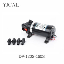 цена на DC 110V 220V Water Booster Fountain High Pressure Diaphragm Pump Reciprocating Self-priming RV Yacht Aquario Filter Accessories