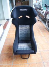 One Lot/2 Pcs Buckets Series Car Seat RAO Carbon Fiber Frame Black Blue Red Alcantara Suede Cloth Racing Car Bucket Seats