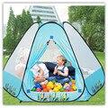 Safety Kids Play Tent Polka Dot Hexagon Baby Playpen Mesh Indoor Stress Ocean Ball Pool Play Yard Tents for Children