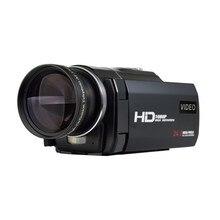 "1080p 30fps filmadora Video Recorder 24MP 16X Anti-shake Macro Portable Camcorder 3"" Touch Screen HDMI out Digital Video Camera"
