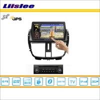 For 2010 2013 Peugeot 206 Car GPS Navigation System Radio TV DVD BT IPod 3G WIFI