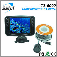 Hot Mini 15M cable Underwater Fishing Camera Night Vision camera for fishing finder With 3.5″Color digital LCD screen