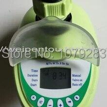 Автоматический садовый таймер для подачи воды орошения контроллер с ЖК-дисплеем