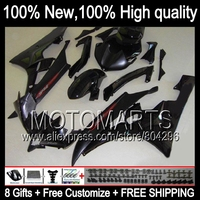 Body Body For YAMAHA YZFR6 ALL Black 06 07 YZF 600 YZF R 6 YZF600 JK9616