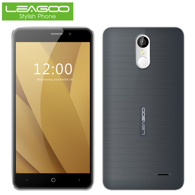 Leagoo M5 Plus 5.5 inch 4G Smartphone MTK6737 Quad Core 2GB RAM 16GB ROM Mobile Cell Phone Fingerprint Dual SIM 13.0MP WiFi GPS