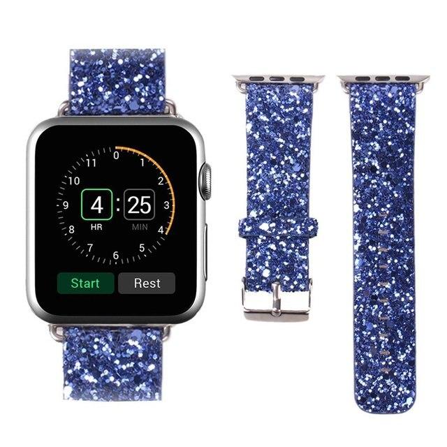 V-MORO Кожа Смотреть Ремешок Ремешок Для Apple Watch Band 42 мм Для Рождественский подарок С Магнитной Застежкой