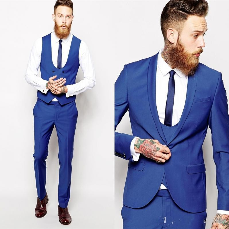 Aliexpress.com : Buy Custom Made Groom Tuxedos Business Suits ...